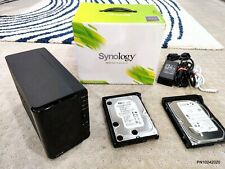 Synology DS213+ 2-Bay NAS Network Storage (500GB + 640GB HDD's included) NR