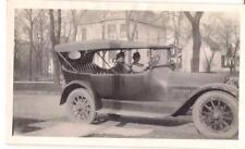IWU ID'd IL Wesleyan College Girls Antique Car Visit PONTIAC IL Vtg 1920s Photo