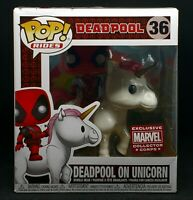 Funko Pop Rides #36! Marvel Deadpool in Unicorn (Marvel Corp Exclusive)