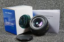 New-Old stock MC Lens Zenitar M2s 2/50  M42 Screw Mount Kit in BOX