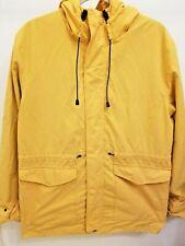 Primark -- Yellow Waterproof Casual Hooded Rain Coat - Size L - Mens