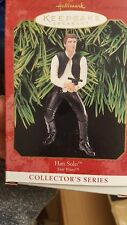 1999 Hallmark Keepsake Ornament Star Wars Series Han Solo NIB NEW IN BOX