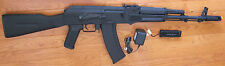 Great Quality Metal Gearbox Electric Airsoft Gun AK74 Style AEG Shoot 380 FPS