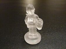 Goebel Hummel Crystal Collection Village Boy Figurine 1990 MIB