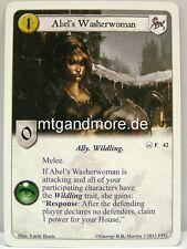 A Game of Thrones LCG - 2x Abel's Washerwoman  #042 - Chasing Dragons