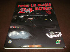 Book. Motorsport. 1995 Le Mans 24 Hours Annual. 1st HB. Free UK P&P.
