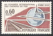 France 1966 Railway/Rail Tracks/Transport/Trains/Conference 1v (n24225)