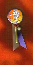 """MR.MET BUTTON PIN 1 3/4"" RIBBONS,BAT & BALL"