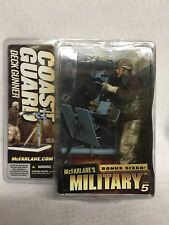 McFarlane's Military Series 5 Bonus Size COAST GUARD DECK GUNNER SEALED NEW!