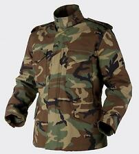 HELIKON TEX US M65 Jacke Army Field Parka Jacket w Liner woodland camouflage LR