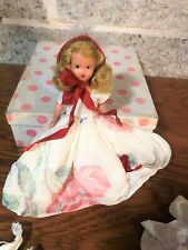 Nancy Ann Storybook Doll For December Just A Dear 198 With Original Box