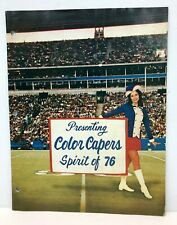 1976 COLOR CAPERS INC Cheerleader Outfit-Cheerleading Supply-Drill Team Catalog