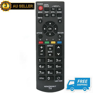 New N2QAYB000817 Replaced TV Remote for Panasonic THL39EV6A THL50B6A THP60S60A