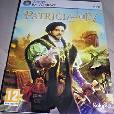 Patrician Iv 4 (Pc, 2010) Game Brand New & Factory Sealed!