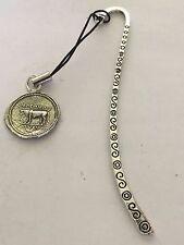 Denarius Of Julius Caesar Coin WC75 Fine English Pewter On A PATTERN Bookmark