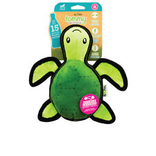 DOG TOY, WITH SQUEAKER, Turtle, Eco-Friendly, Recycled Material, MEDIUM, Beco