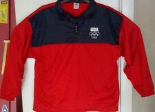 2012 London Olympic Games Team USA Pullover Sweater Jacket XL And OSFA Hat Cap