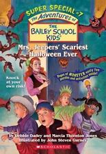 Mrs. Jeepers' Scariest Halloween Ever (The Bailey School Kids Super-ExLibrary