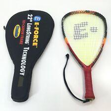 """E-Force 22"""" Bedlam Lite 170g Racquetball Racquet Racket Longstring Power w Case"""