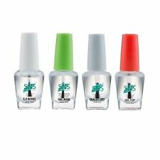 SNS Nails Gel (set of 4) Gel Base, Gel Top, EA Bond, Seale Dry (0.5oz/bottle)