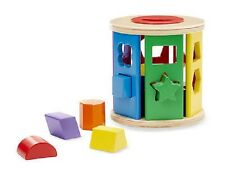 Melissa & Doug Match and Roll Shape Sorter #9041  New