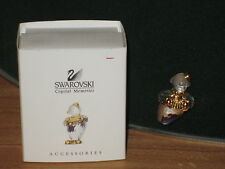 SWAROVSKI MEMORIES *NEW* Broche Brooch Clown Accordéon Accordian 220310 H.3,8cm