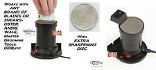 Master Grooming Tools SharpPro BLADE SCISSOR SHARPENER&EXTRA DISC For OSTER,WAHL