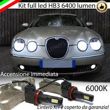 KIT FULL LED JAGUAR S-TYPE S TYPE LAMPADE ABBAGLIANTI LED HB3 6000K NO ERRORE