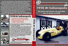 1950 Indianapolis 500 in COLOR, Johnnie Parsons on DVD!