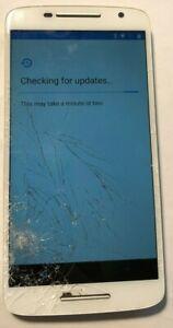 [BROKEN] Motorola X Play 16GB (Unlocked) Smartphone Repair Cracked LOCKED