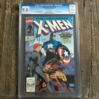Uncanny X-Men #268 CGC 9.8 🔥 Jim Lee Classic cover  Black Widow Captain America