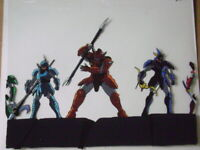 RONIN WARRIORS SAMURAI TROOPERS ANIME PRODUCTION CEL 4