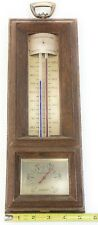 Vintage Springfield Barometer In/Outdoor Instrument Thermometer Meter Humidity