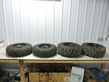 14 Polaris Sportsman 570 EPS ATV front and rear wheels rims tires set