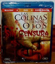 LAS COLINAS TIENEN OJOS COMBO BLU-RAY+DVD NUEVO PRECINTADO TERROR (SIN ABRIR) R2