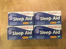 144 Caplets Sleep Aid Dipenhydramine HCl 25 mg 25mg Pills Sleeping *Exp: 6/2021*