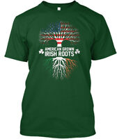 Patricks Day, Im Irish - American Grown Roots Hanes Tagless Tee T-Shirt