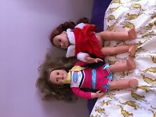Our Generation Girl doll lot of two, Juliet? Plus a friend preowned condition