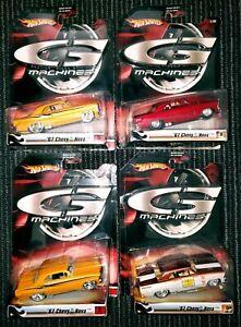 Hot Wheels Custom Classics '67 Chevy Nova- Different Series HTF Lot of 4