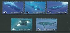 NEW ZEALAND 2010 ROSS DEPENDANCY WHALES SET 5 FINE USED