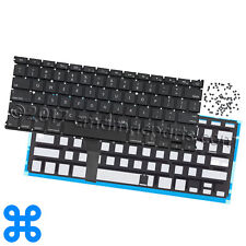 US KEYBOARD + BACKLIGHT + SCREWS MacBook Air 13 A1466...