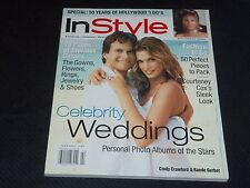 1999 FEBRUARY IN STYLE MAGAZINE - CINDY CRAWFORD FRONT COVER - FASHION - J 3034