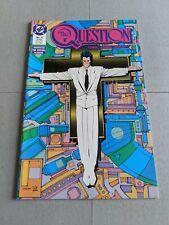 The Question #11 December 1987 DC Comics