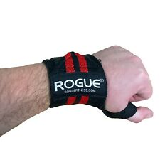 Rogue Fitness Wrist Wraps | Black/Red, 12"