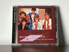 Duran Duran IN CONCERT 1982 BBC Transcription genuine CD w/ticket Andy Taylor
