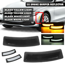 For 16-19 BMW F30 F31 F32 3 4Series LED Side Front Bumper Marker Reflector