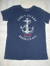 "T-shirt "" Californian Vintage "" 14 ans, mixte, bleu marine, coton/polyester, be"