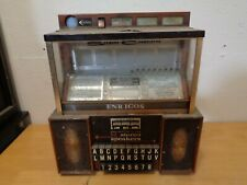 Seeburg Consolette Jukebox Vintage w/ Key Untested As-Is Sch3