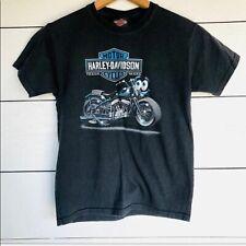 Boys Cape Cod Harley Davidson T-shirt Hyannis MA R.K. Stratman Motorcycle Club