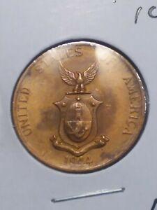Philippines 1944S 1 Centavo Coin Lot 5